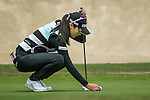 Ji Hyun Oh of South Korea plays on the 11th hole during Round 2 of the World Ladies Championship 2016 on 11 March 2016 at Mission Hills Olazabal Golf Course in Dongguan, China. Photo by Lucas Schifres / Power Sport Images