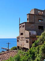 aufgelassene Mine bei Cala Seregola, Elba, Region Toskana, Provinz Livorno, Italien, Europa<br /> Abandoned  mine near Cala Seregola, Elba, Region Tuscany, Province Livorno, Italy, Europe