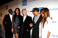 LOS ANGELES, CA - DEC 3: Djimon Hounsou, Kimora Lee, David Lynch, Russell Simmons, Angela Simmons at the 3rd Annual 'Change Begins Within' Benefit Celebration presented by The David Lynch Foundation held at LACMA on December 3, 2011 in Los Angeles, California