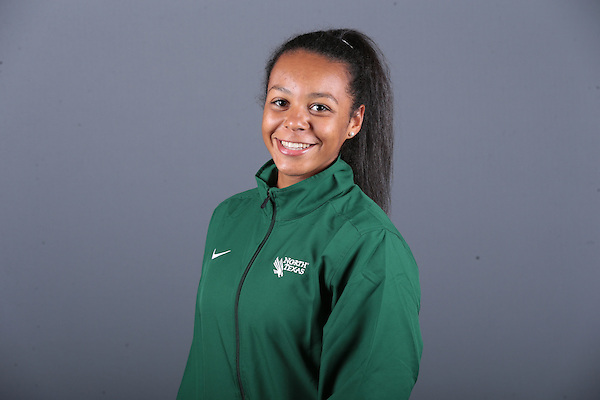 DENTON, TX - SEPTEMBER 25: North Texas Mean Green Track & Field media day at Fouts Field House in Denton on September 25, 2015 in Denton, Texas. (Photo by Rick Yeatts)