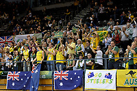 Australian Steelers supporters vs GB<br /> Australian Wheelchair Rugby Team<br /> 2018 IWRF WheelChair Rugby <br /> World Championship / Semi Finals<br /> Sydney  NSW Australia<br /> Thursday 9th August 2018<br /> © Sport the library / Jeff Crow / APC