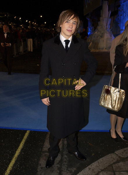 "WILLIAM MOSELEY.""The Chronicles of Narnia- The Lion, The Witch and the Wardrobe"".World film premiere, Royal Abert Hall.London England 7 December 2005.Ref: FIN.full length black jacket.www.capitalpictures.com.sales@capitalpictures.com.©Steve Finn/Capital Pictures"