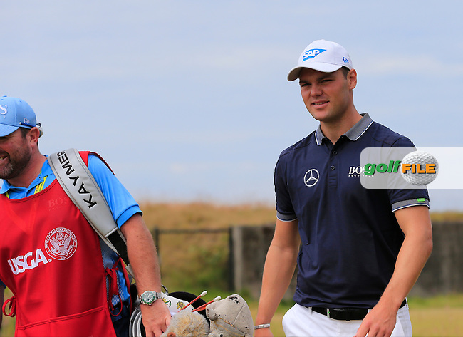 Martin Kaymer (GER) walks off the 18th tee during Thursday's Round 1 of the 2015 U.S. Open 115th National Championship held at Chambers Bay, Seattle, Washington, USA. 6/18/2015.<br /> Picture: Golffile | Eoin Clarke<br /> <br /> <br /> <br /> <br /> All photo usage must carry mandatory copyright credit (&copy; Golffile | Eoin Clarke)