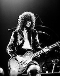 Led Zeppelin 1975 Jimmy Page at Earls Court May 25th 1975<br /> &copy; Chris Walter
