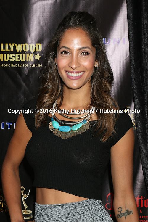 LOS ANGELES - APR 27:  Christel Khalil at the 2016 Daytime EMMY Awards Nominees Reception at the Hollywood Museum on April 27, 2016 in Los Angeles, CA