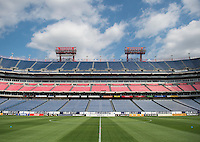 Nashville, TN - March 5, 2016: The USWNT trains before their match against France in the SheBelieves Cup at Nissan Stadium.