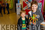 Cody and Kai Kelliher from Tralee enjoying the day at the Kerry Science Festival in the IT Tralee on Saturday.