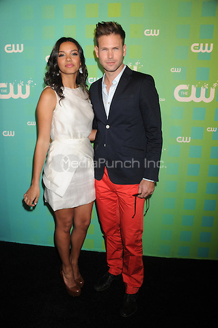 Jessica Lucas and Matt Davis at The CW Network's 2012 Upfront at New York City Center on May 17, 2012 in New York City. . Credit: Dennis Van Tine/MediaPunch