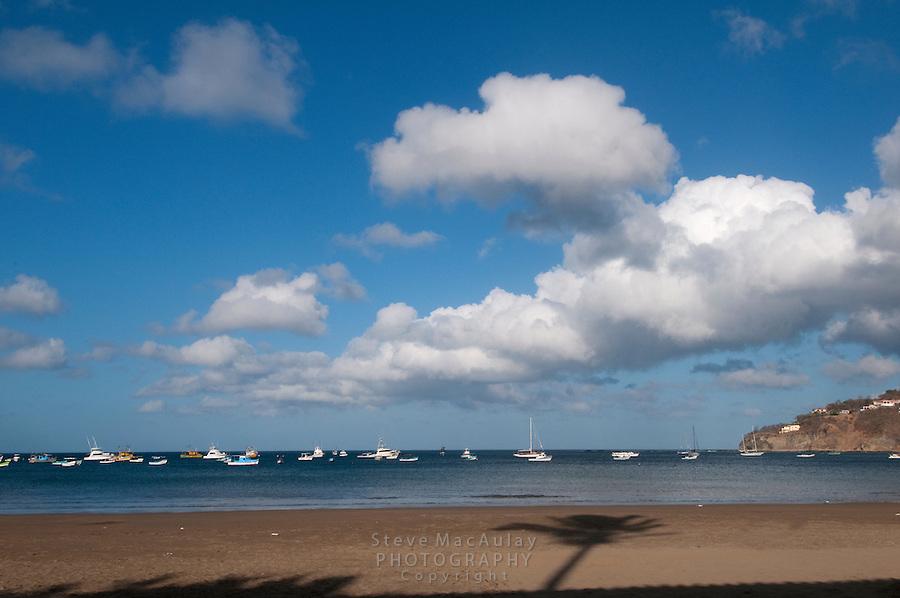 View of beach, San Juan Del Sur, Nicaragua