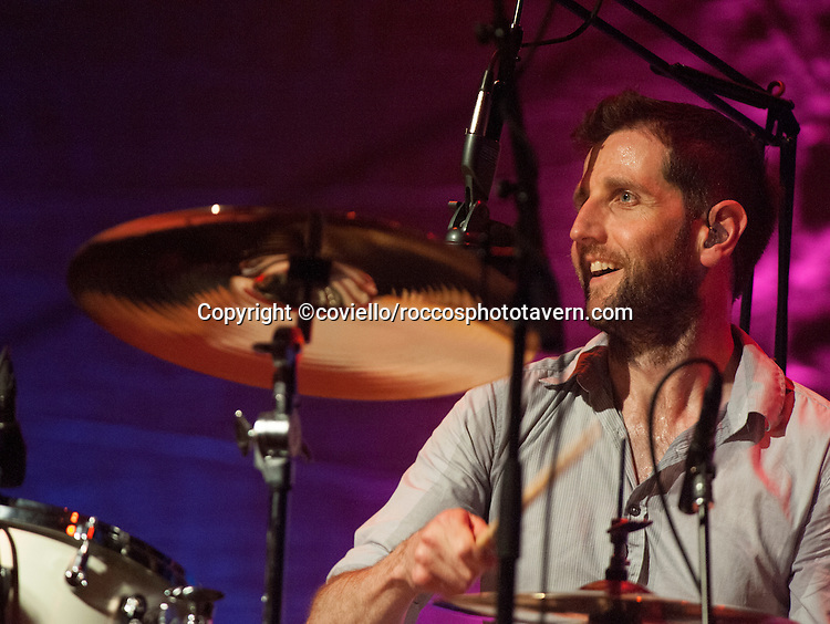 Richard Hughes of Keane plays The Boston House of Blues in their tour opening performance.