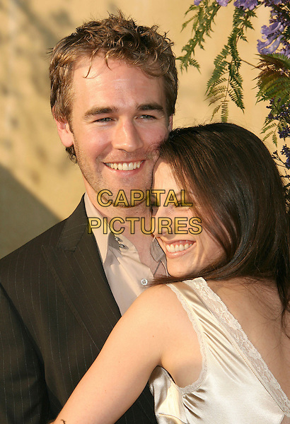 JAMES VAN DER BEEK & HEATHER McCOMB.Sixth Annual Chrysalis Butterfly Ball held at the Home of Susan Harris and Hayward Kaiser, Mandeville Canyon, California, USA, 02 June 2007..half length.CAP/ADM/RE.©Russ Elliot/AdMedia/Capital Pictures. *** Local Caption *** ..
