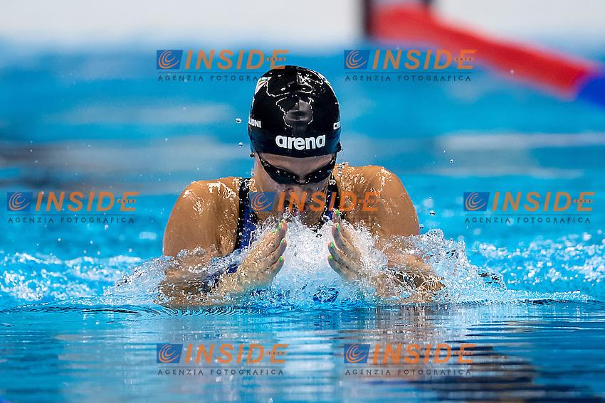 Castiglioni Arianna ITA<br /> 100 breaststroke women<br /> Rio de JaneiroXXXI Olympic Games <br /> Olympic Aquatics Stadium <br /> Swimming heats 07/08/2016<br /> Photo Giorgio Scala/Deepbluemedia/Insidefoto