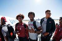 San Jose, CA - September 6, 2019:  Stanford Football travels to Los Angeles for its game with USC.