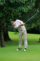 William Hanna (Kilkeel) on the 3rd tee during round 1 of The Mullingar Scratch Cup in Mullingar Golf Club on Sunday 3rd August 2014.<br /> Picture:  Thos Caffrey / www.golffile.ie