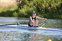 Race: 44  W.1x (Band 3)  Heat 2<br /> <br /> Peterborough Summer Regatta 2018 - Saturday<br /> <br /> To purchase this photo, or to see pricing information for Prints and Downloads, click the blue 'Add to Cart' button at the top-right of the page.