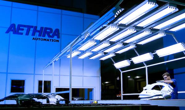 Contagem, 14/03/2007..Documentacao coorporativa da planta industrial da fabrica de autopecas AETHRA...FOTO: BUNO MAGALHAES / AGENCIA NITRO