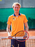 Almere, The Netherlands, August 24, 2018,  National Tennis Center, Coach Roel Oostdam (NED)<br /> Photo: Tennisimages/Henk Koster