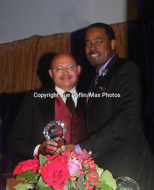 As The World Turns' Lamman Rucker is Master of Ceremonies at the 7th Annual Spirit of the Heart Awards - Dinner for the Association of Black Cardiologists honoring Dr. Luther T. Clark on October 1, 2016 at Cipriani 42nd Street, New York City, New York. (Photo by Sue Coflin/Max Photos)