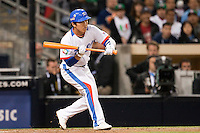 15 March 2009: #8 Keunwoo Jeong of Korea is seen at bat during the 2009 World Baseball Classic Pool 1 game 2 at Petco Park in San Diego, California, USA. Korea wins 8-2 over Mexico.