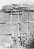 Engineer's-side view of RGS #19 on bridge 43-A at Ames Gulch.<br /> RGS  Ames, CO  Taken by Virden, Walter - a. 1920