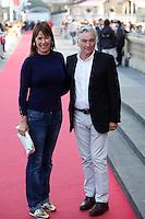 Mabel Lozano and Eduardo Campoy attend the film: 'Relatos Salvajes' during the 62st San Sebastian Film Festival in San Sebastian, Spain. September 25, 2014. (ALTERPHOTOS/Caro Marin) /NortePhoto.com