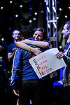 Vanessa Selbst's supporters give her a hug after she won.