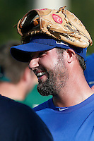 19 September 2012: Team France pitching coach Eric Gagne is seen smiling following Team France friendly game against Palm Beach State College, during the 2012 World Baseball Classic Qualifier round, in Lake Worth, Florida, USA.