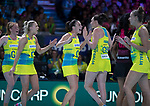 28/10/17 Fast5 2017<br /> Fast 5 Netball World Series<br /> Hisense Arena Melbourne<br /> Australia v New Zealand<br /> <br /> <br /> <br /> <br /> <br /> Photo: Grant Treeby