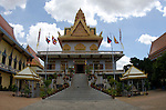 Wat Ounalom, the oldest Buddhist foundation in Phnom Penh, circa 1443