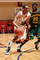 SAN ANTONIO , TX - FEBRUARY 6, 2010: The Southeastern Louisiana University Lions vs. The University of Texas At San Antonio Roadrunners Men's Basketball at the UTSA Convocation Center. (Photo by Jeff Huehn)