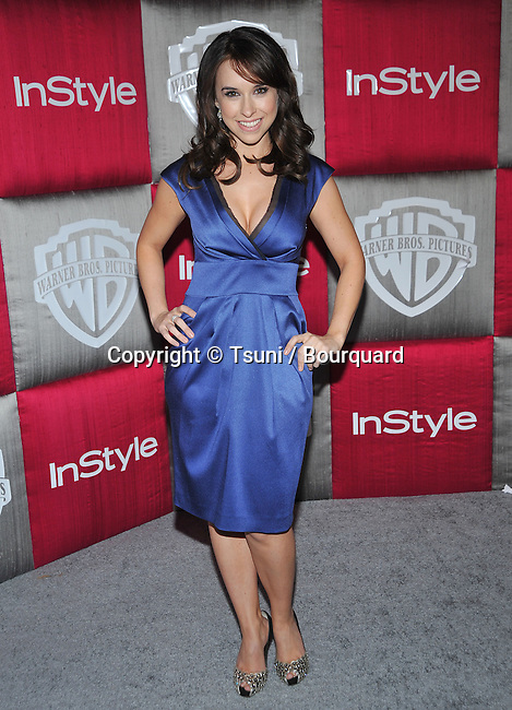 Lacey Chabert -<br /> In Style Party after the Golden Globe Awards at the Beverly Hilton in Los Angeles.