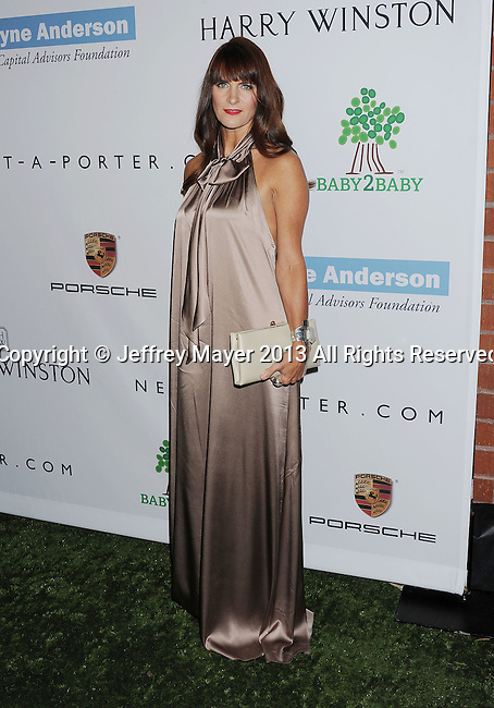 CULVER CITY, CA- NOVEMBER 09: Director of Entertainment PR at Tommy Hilfiger Megan DiCiurcio arrives at the 2nd Annual Baby2Baby Gala at The Book Bindery on November 9, 2013 in Culver City, California.
