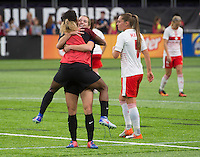 Minneapolis, MN - October 23, 2016: The USWNT defeated Switzerland 5-1 during an international friendly at U.S. Bank Stadium.