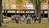 paddock people before The Delaware Park Arabian Juvenile Championship at Delaware Park on 10/27/12...