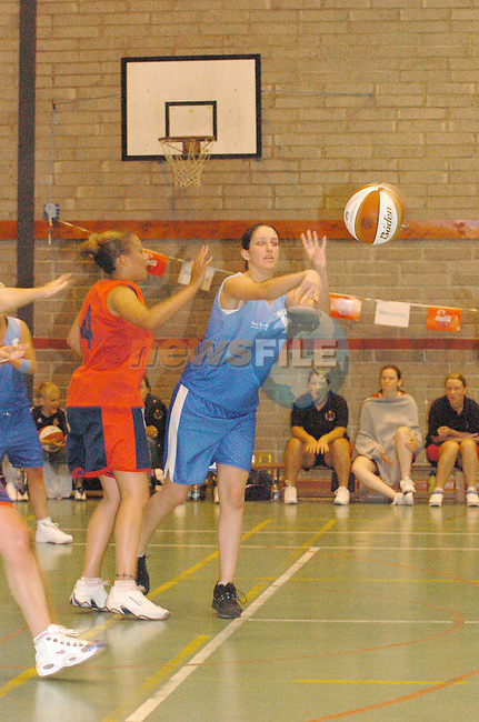 Mosney in action in the final of the Drogheda concentrates Pre Season Basketball tournament in Greenhills over the Weekend...Photo Fran Caffrey Newsfile.ie..This Picture has been sent to you by Newsfile Ltd..The Studio,.Millmount Abbey,.Drogheda,.Co. Meath,.Ireland..Tel: +353(0)41-9871240.Fax: +353(0)41-9871260.ISDN: +353(0)41-9871010.www.newsfile.ie..general email: pictures@newsfile.ie