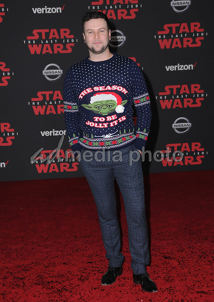 "09 December  2017 - Los Angeles, California - Taran Killam. Premiere Of Disney Pictures And Lucasfilm's ""Star Wars: The Last Jedi"" held at The Shrine Auditorium  in Los Angeles Photo Credit: Birdie Thompson/AdMedia"