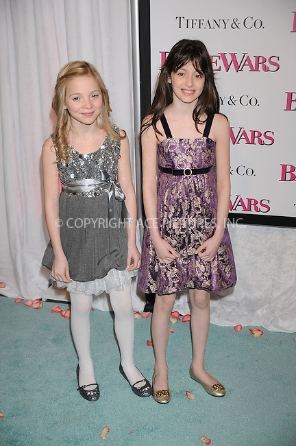 WWW.ACEPIXS.COM . . . . . ....January 5 2009, New York City....Actors (R-L) Shannon Ferber and Zoe O'Grady arriving at the premiere of 'Bride Wars' at the AMC Loews Lincoln Square on January 5 2009 in New York City....Please byline: KRISTIN CALLAHAN - ACEPIXS.COM.. . . . . . ..Ace Pictures, Inc:  ..tel: (212) 243 8787 or (646) 769 0430..e-mail: info@acepixs.com..web: http://www.acepixs.com