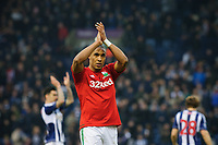 Saturday, 9 March 2013<br /> <br /> Pictured: Ashley Williams of Swansea City<br /> <br /> Re: Barclays Premier League West Bromich Albion v Swansea City FC  at the Hawthorns, Birmingham, West Midlands