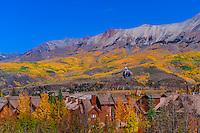 Gondola, Telluride Mountain Village, Telluride, Colorado USA.