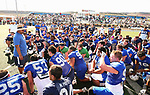 2BLU4438<br /> <br /> The BYU Football Team holds a public practice and Fan Fest at Dixie High School in St. George, Utah.<br /> <br /> 2017 BYU Football - Spring Practice March 17, 2017<br /> <br /> March 17, 2017<br /> <br /> Photo by Jaren Wilkey/BYU<br /> <br /> &copy; BYU PHOTO 2017<br /> All Rights Reserved<br /> photo@byu.edu  (801)422-7322