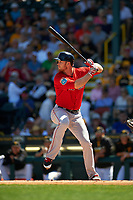 Boston Red Sox right fielder Brennan Boesch (31) at bat during a Spring Training game against the Pittsburgh Pirates on March 9, 2016 at McKechnie Field in Bradenton, Florida.  Boston defeated Pittsburgh 6-2.  (Mike Janes/Four Seam Images)
