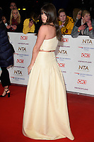 LONDON, UK. January 22, 2019: Brooke Vincent at the National TV Awards 2019 at the O2 Arena, London.<br /> Picture: Steve Vas/Featureflash
