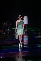 SAO PAULO, SP, 24.04.2019 - MODA-SP -Modelo durante  desfile da marca Modem  durante a edição 47 da São Paulo Fashion Week, no espaço Arca, zona oeste de São Paulo, nesta quarta-feira, 24. (Foto: Ciça Neder / Brazil Photo Press)