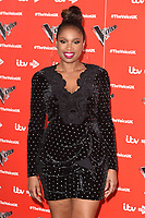 LONDON, UK. January 03, 2019: Jennifer Hudson at the launch photocall for the 2019 series of &quot;The Voice&quot; London.<br /> Picture: Steve Vas/Featureflash