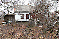 Ukraine, Nikolaev Oblast, Pervomaisk, Houses