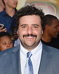 WESTWOOD, CA - AUGUST 09: Actor David Krumholtz arrives at the Premiere Of Sony's 'Sausage Party' at Regency Village Theatre on August 9, 2016 in Westwood, California.