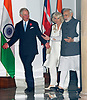 Charles & Camilla Attend Modi Dinner, New Delhi