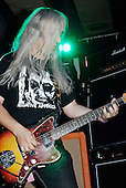 Dinosaur Jr - guitarist J Mascis performing live at the band's reunion concert at the Scala in London UK - 26 Jun 2007.  Photo credit: George Chin/IconicPix