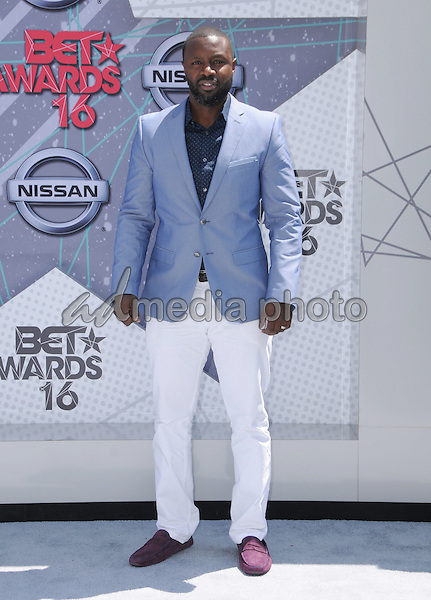 26 June 2016 - Los Angeles. Rob Hardy. Arrivals for the 2016 BET Awards held at the Microsoft Theater. Photo Credit: Birdie Thompson/AdMedia