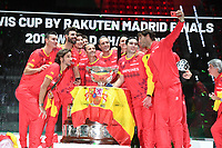 Tennis - Davis Cup Finale 2019 -  Victoire de l Espagne <br /> Tennis Davis Cup 2019 <br /> Coppa Davis<br /> Foto Chryslene Caillaud / Panoramic / Insidefoto <br /> ITALY ONLY